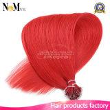 Nano anillo del pelo 100% extensión del pelo humano puro servidumbre natural Voltear la queratina de la extensión del pelo