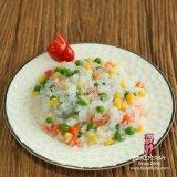 Macarronetes Konjac dos macarronetes orgânicos da forma do arroz de Shirataki