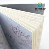 Impressora de alta qualidade, cadernos de prata offprint com logotipo em relevo