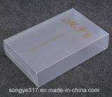 Caixa plástica retangular do PVC