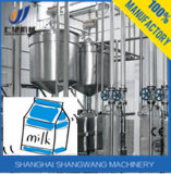 Молоко Uht и пастеризованная производственная линия молока, машины молока обрабатывая