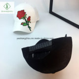 2017 la plus nouvelle plaine Rose broderie casquette de baseball chapeau de mode