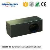 Tête dynamique approuvée de Galvo de Ce/RoHS Sg2208-3D Foucs avec le fournisseur professionnel