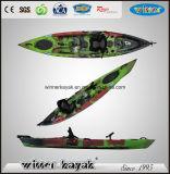 Рыбалка Байдарка сидячим Kayak 3 Rod Держатели Делюкс мягкие сиденья & Paddle