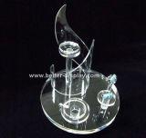 De acryl Kiosk van de Vertoning van Juwelen voor Earrrings