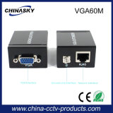 O VGA ao conversor do cabo 60m do prolongamento Cat-5e/6 do sinal RJ45 (VGA60M)