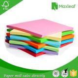 El papel de la especialidad del color para Handcraft el papel de la oficina del papel de escuela del trabajo