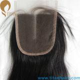 Fabrication Indienne Remy Cheveux Humains Partie du Milieu Pieces