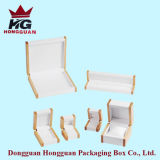 Коробка деревянного подарка упаковывая для ювелирных изделий