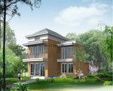 Chalet prefabricado con el Sunroom y la casa verde