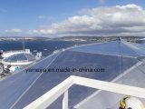 Aluminiumbecken deckt Aluminiumbienenwabe-Panel für interne sich hin- und herbewegende Dächer ab (IFRs)