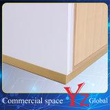 Счетчик магазина шкафа выставки витрины индикации полки индикации витринного шкафа нержавеющей стали стеллажа для выставки товаров шкафа индикации стойки индикации (YZ161707)