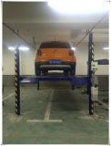 Elevador de estacionamento do estacionamento de quatro bornes