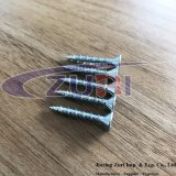 Ponto afiado chapeado zinco 4.1X25 do parafuso do indicador