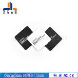 Etiqueta elegante de lectura/grabación cuadrada del PVC de RFID para la cadena de producción