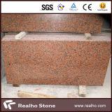 熱い販売法の安い中国のかえでの赤いG562花こう岩の平板/タイル