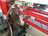 ジャンボロールのカートンテープ打抜き機