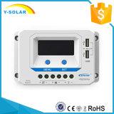 Regulador do painel solar de Epsolar 45A 12V/24V para o sistema solar com USB duplo Vs4524au