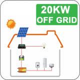 Eletricidade 20kw do sistema solar da exploração agrícola fora dos jogos solares da grade