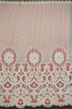 Ткань шнурка белой вышивки полиэфира ткани шнурка самой лучшей Bridal для платья венчания /Underwear/Cloth