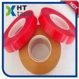 El doble rojo de la película del claro del animal doméstico del trazador de líneas del surtidor de la calidad de ISO9001&SGS China echó a un lado cinta adhesiva
