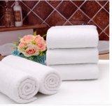 ホテルの浴室タオル、純粋な白、500g、75*180cmの100%年の綿、32s