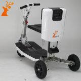 Motorino elettrico della Cina del triciclo pieghevole trasformabile bianco all'ingrosso della fabbrica