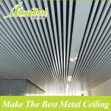 SGS populares de aluminio deflector de techo acabado madera para la construcción