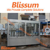 Máquina de rellenar automática llena vendedora caliente 2017 del agua de botella del animal doméstico 3 in-1 de Blissum