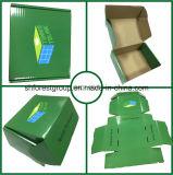 Rectángulos de envío barnizados brillantes de la cartulina acanalada para la venta