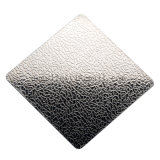 La configuration de toile du prix concurrentiel ASTM 304 a gravé la feuille laminée à froid d'acier inoxydable pour le panneau de décoration de porte de caisse de sortie de cuisine