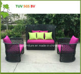 H中国熱い販売法の円形の柳細工の庭の家具の屋外のソファー2016年