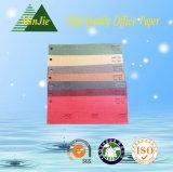 Color de revestimiento decorativo Papel grabado para la caja de regalo y la tarjeta de felicitación
