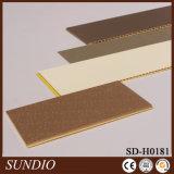 Diseño hueco fuerte PP que cubre el tablero compuesto de WPC para la decoración interior de la pared