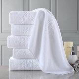 Super suave 100% toalla del algodón Terry Jacquard Baño