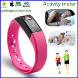 Smart Bluetooth Bracelet IP67 Depth Waterproof Pedometer Watch