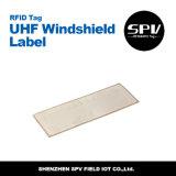 Estrangeiro H3 ISO18000-6c do Tag do pára-brisa da freqüência ultraelevada de RFID