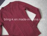Pullover di lavoro a maglia misto Wool20%Nylon di 80% degli uomini