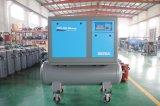 compresor de aire portable transmitido por banda del tornillo 7.5kw