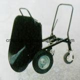 Trole de aço da mão de quatro rodas