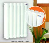 Double Panels Oval Steel Columns Water Heating Radiators pour House Heating
