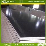 18mm*1250mm*2500mm Hot Sale Black Film Faced Plywood para Shuttering (w15097)