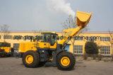 Caricatore pesante della rotella del condizionatore d'aria pilota di controllo con il carrello elevatore del terreno