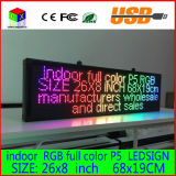 680X190mm programmabile LED Scrolling Message Display segno del LED Panel Indoor Consiglio Full Color