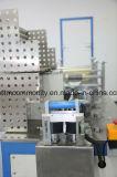 Automatische Wegwerfnicht gesponnene Schutzkappe, die Maschine herstellt