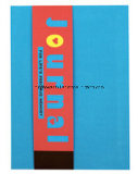 Cahier de livre À couverture dure de tissu de couleur solide