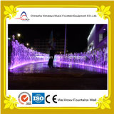Music seco Fountain com DMX Controlled Lights