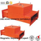 De Permanente Magnetische Separator van de pijpleiding voor Cement, Chemisch product, Steenkool
