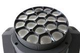 Yeux d'abeille de la rotation LED d'éclairage déplaçant la lumière principale
