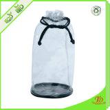 Plastik-Kurbelgehäuse-Belüftungfreier Drawstring-Toilettenartikel-Beutel